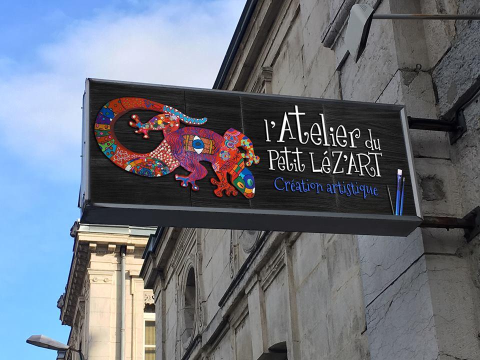 L'Atelier du petit Léz'art déménage, Sisternet l'accompagne sur le web !
